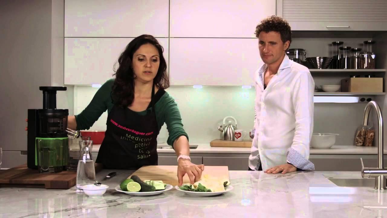 JUISSEN SLOW JUICER receta para deportistas, Xevi verdaguer - YouTube