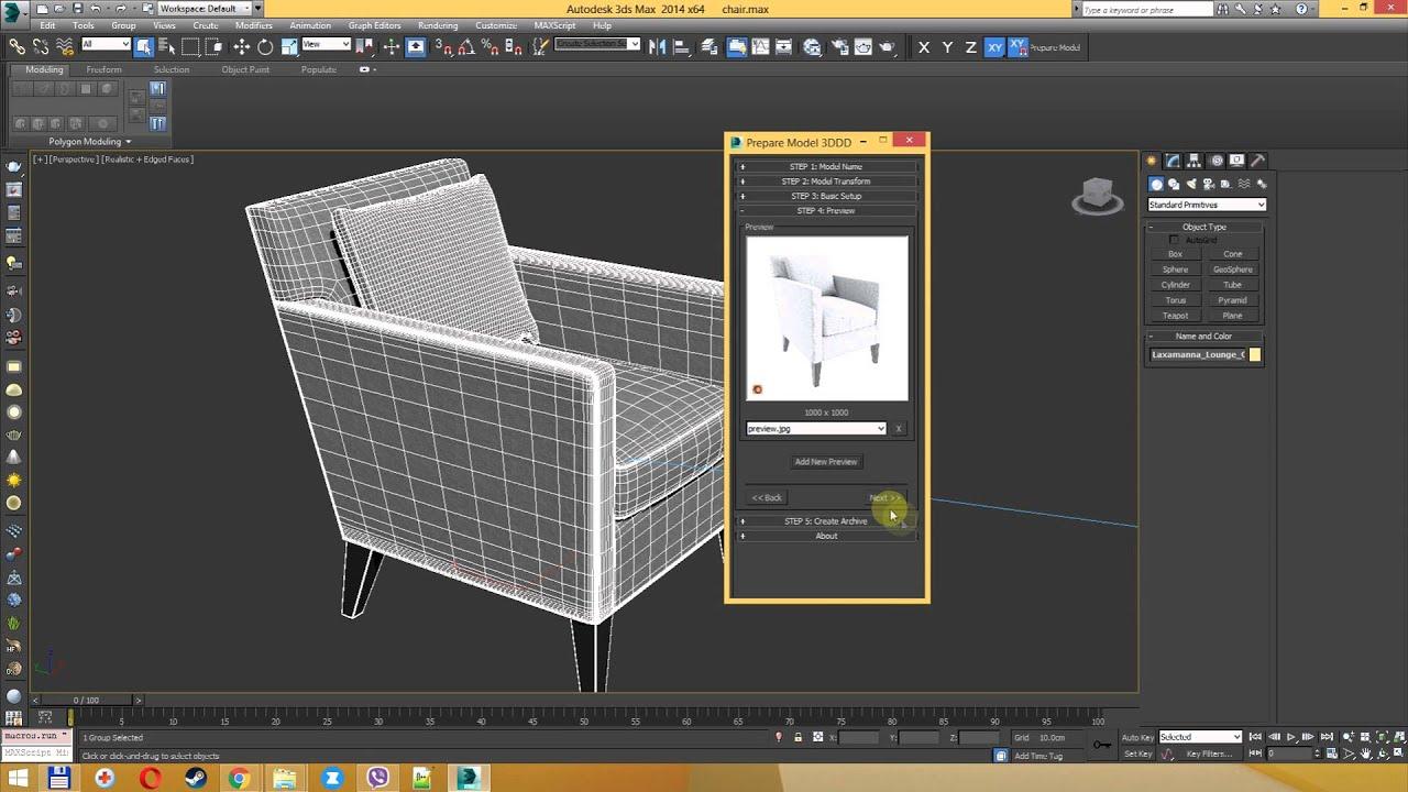 Prepare Model 3DDD | ScriptSpot