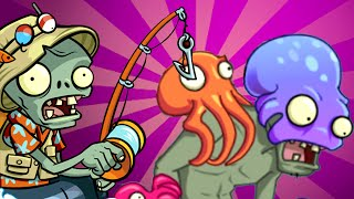 Plants vs. Zombies 2 - Big Wave Beach Part 2, Day 28 (Operation OPERATION MAGNIFYING GRASS!)