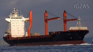 SAGAMORE コンテナ船 Container ship 2019JAN
