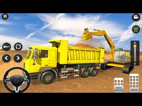 Kepçe Oyunu - Araba Oyunları Kamyon Kepçe Videoları çizgi Film Animasyon