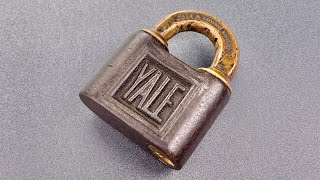 [1229] The Secret To Picking This 115-Year Old Yale Padlock
