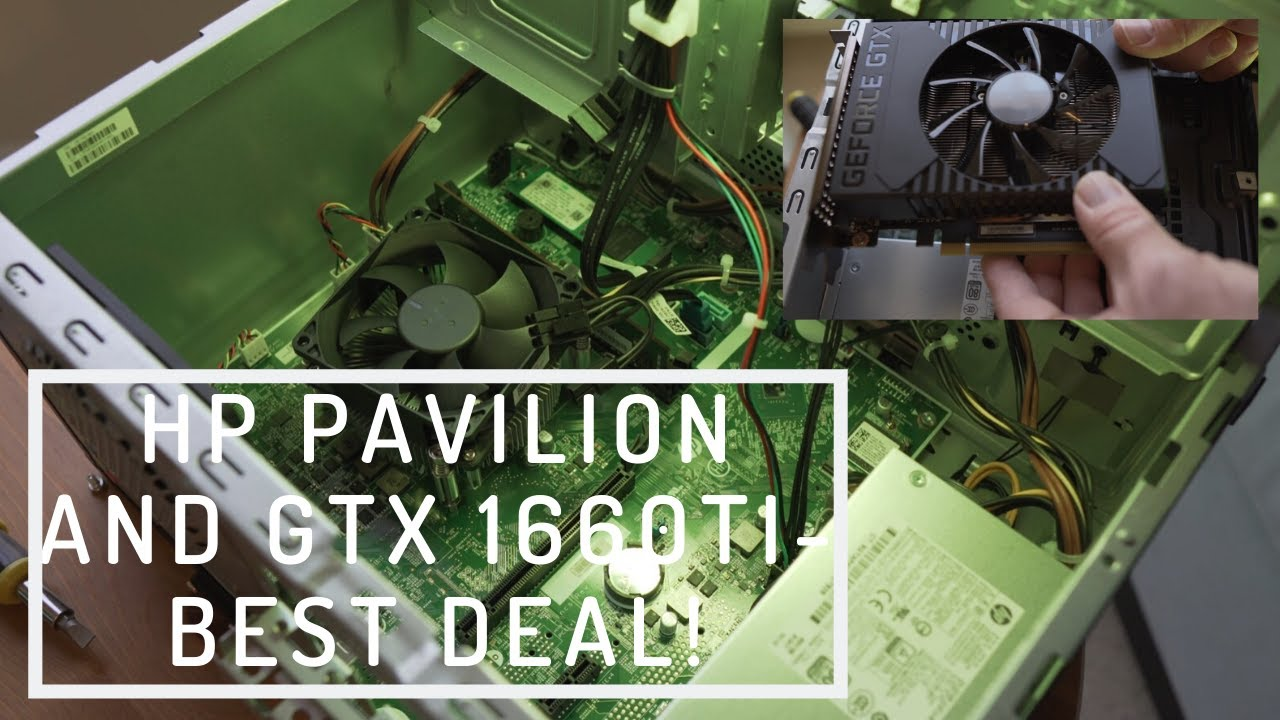 Hp Pavilion Gaming Desktop With Gtx 1660ti For 499 Youtube