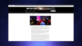 Tutorial - How to use the Revelation TV website