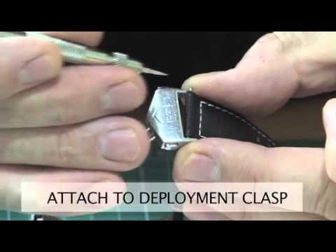 Fitting A TAG Heuer Deployment Clasp
