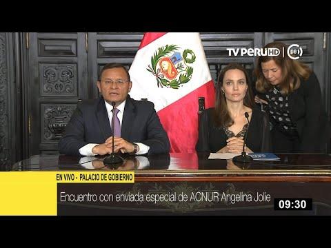 """Gobierno sobre Angelina Jolie: """"Busca sensibilizar a comunidad internacional en apoyo a venezolanos"""""""