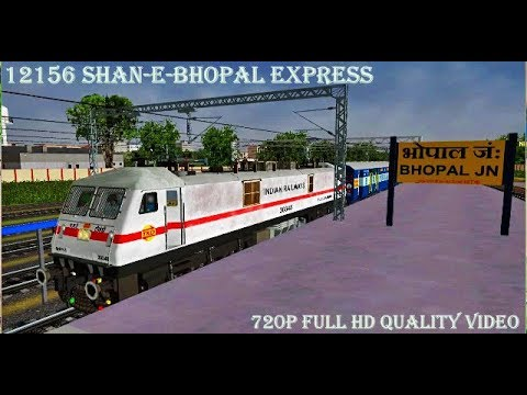 Highly Danger ACT..!! MSTS Indian Railways 12156 Shan-E-Bhopal Express