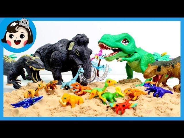 [A dda dda Toys]Dino mecard ,mammoth dinosaur,T-REX,Delta,Deinonychus,Allo ,Tsintao dinosaur