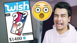 Buying 100% RANDOM Items from WISH! (DIDN