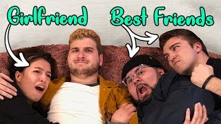 Girlfriend VS Best Friend Challenge! (W/ REACT cast)