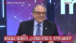 """29-08-2019 - Carlos Heller en C5N – Minuto Uno, con Gustavo Sylvestre – """"Reperfilamiento"""" de deuda"""