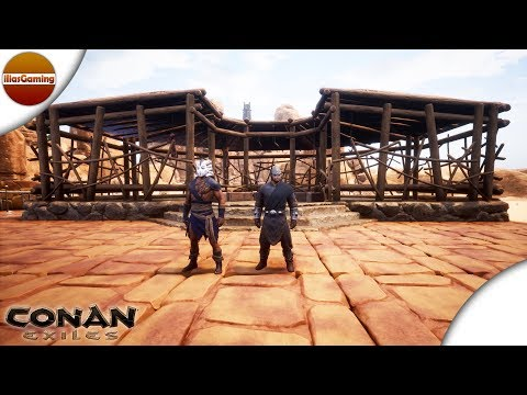 Κάνουμε tame ζώα! Conan Exiles E30 Greek gameplay