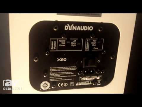CEDIA 2014: Dynaudio Features Its XEO Wireless Active Speakers