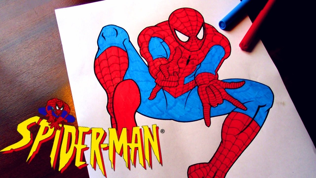 spiderman coloring pages for kids spiderman coloring pages fun