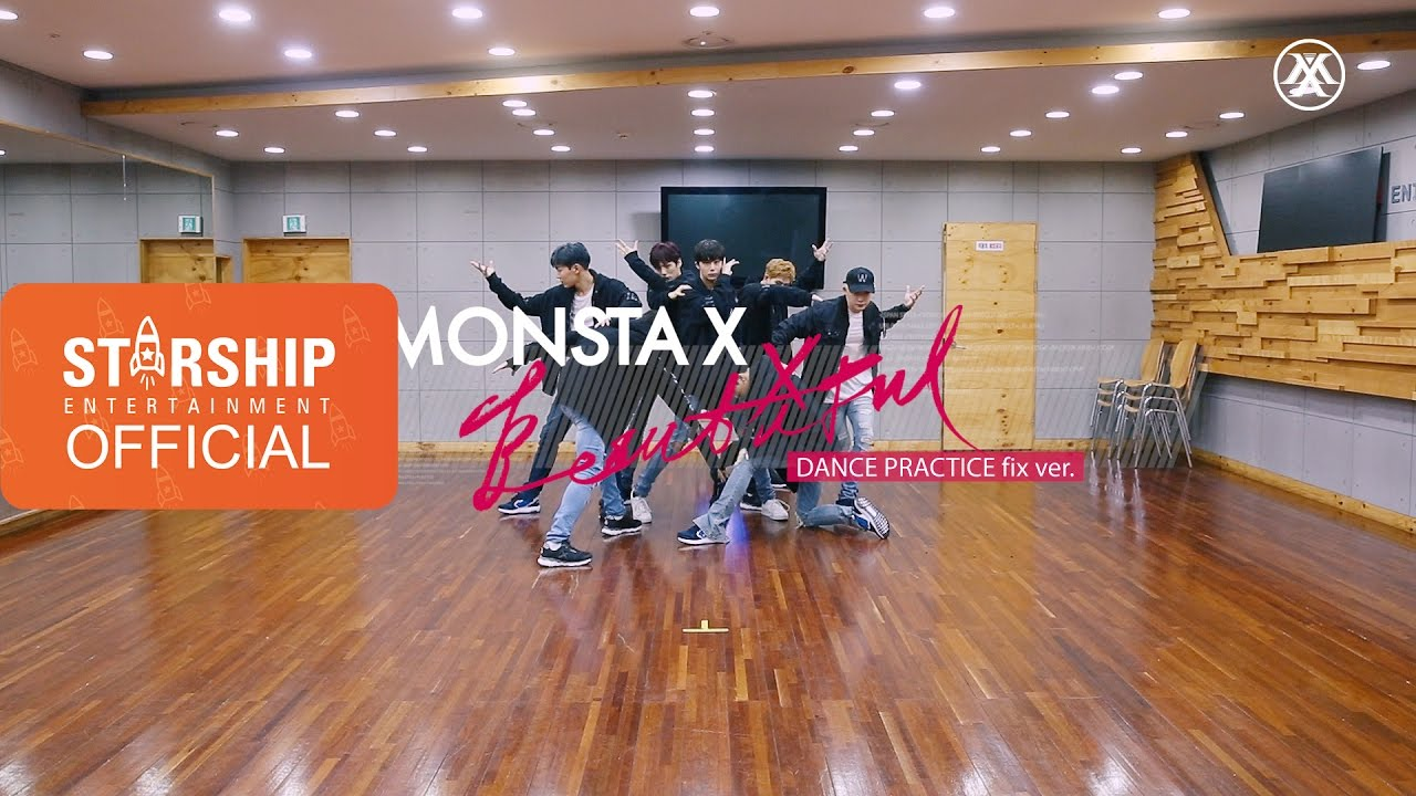 [Dance Practice] 몬스타엑스 (MONSTA X) - 아름다워 (BEAUTIFUL) #1