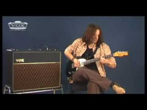 VOX AC30CC with Dave Kilminster