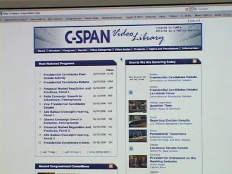 C-SPAN Video Library  -  www.c-span.org/videolibrary