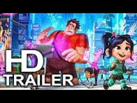 WRECK IT RALPH 2 Official Trailer (2018) Ralph Breaks The Internet, Disney Movie HD1