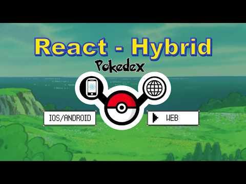 Build a Hybrid Pokedex - React Native on the Web - YouTube