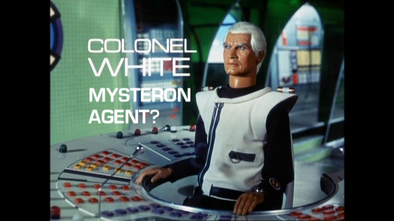 captain scarlet - colonel white  mysteron agent