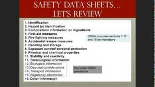 Hazard Communication Global Harmonization System Safety Data Sheets(, 2014-03-06T05:20:36.000Z)