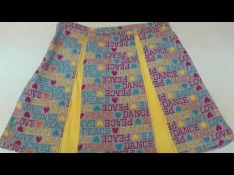 b7003177e Corte falda de 4 pliegues chatos | Doovi