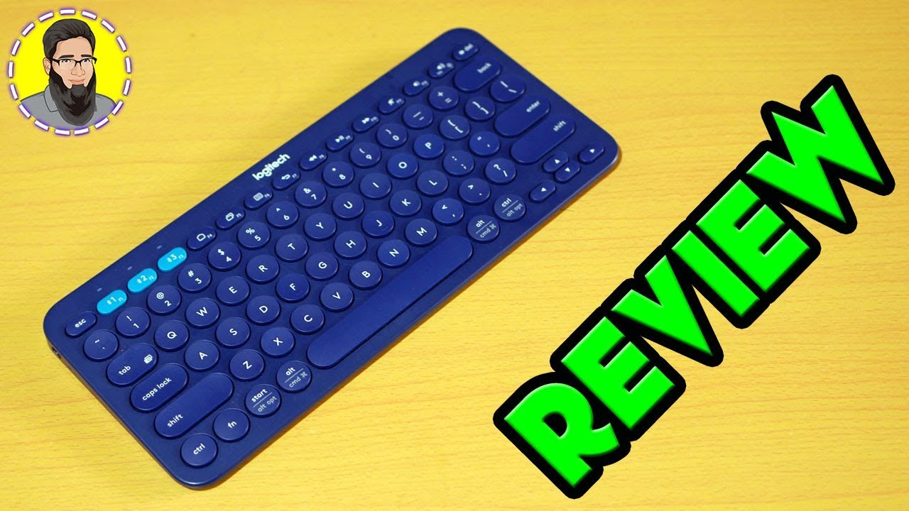 $30 ⌨️Logitech K380 (Blue Color) Bluetooth Keyboard Review | Best Travel Keyboard ?