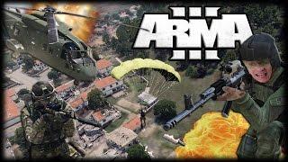 Jogando Arma 3 - Aventuras Caóticas no Meio da Guerra!