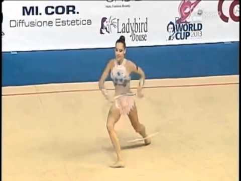 Katsiaryna Halkina Hoop Final 2013 Pesaro World Cup