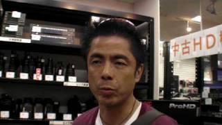 うじきつよしさんにAG-HMC155をお買い上げいただきました! http://www....
