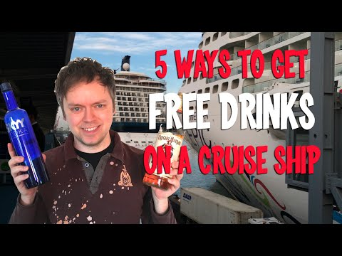 5 Ways to get FREE DRINKS on a Cruise Ship, Very unofficial Travel Guides
