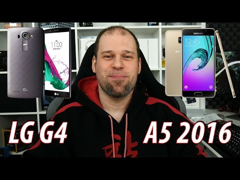 LG G4 vs. Samsung Galaxy A5 2016