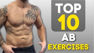 Top 10 Exercises - Top 10 No Equipment Ab Exercises