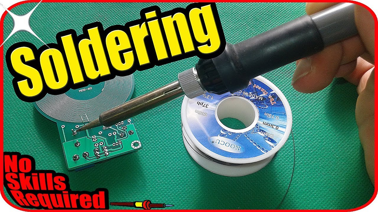 Electronics for beginners - How to solder wires to a circuit board ...