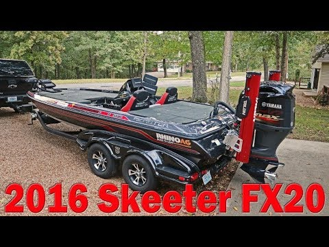 Skeeter Bass Boats For Sale >> For Sale 2016 Skeeter Fx20 Custom Fishing Bass Boat Yamaha 250 Sho 52 685 00