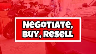 How To Negotiate, Buy, & Resell | $1,700 Profit