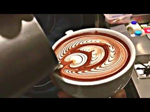 Most Satisfying Barista Latte Art Training Compilation! -MUST WATCH- | Coffee Art |