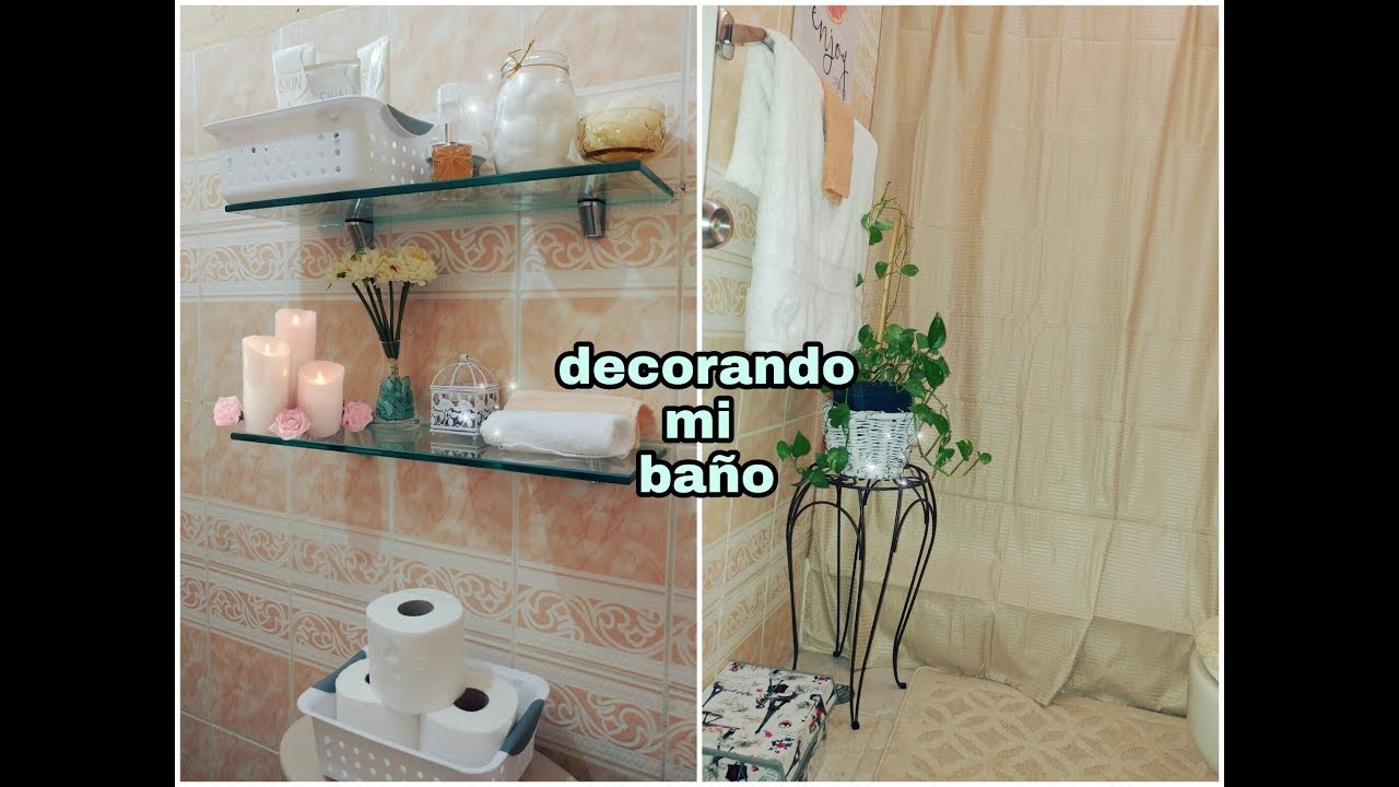 Ideas para decorar un ba o peque o como decore mi ba o for Como amueblar un bano pequeno