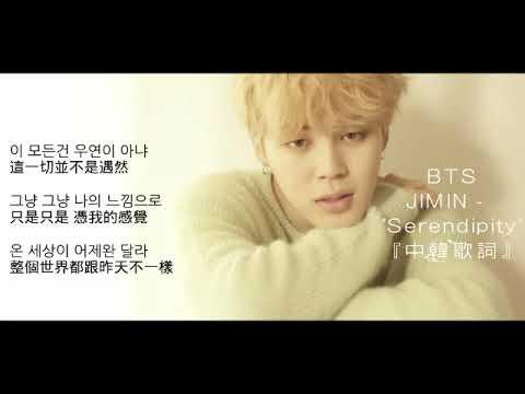 【中韓歌詞】BTS Jimin Love Yourself- 'Serendipity'