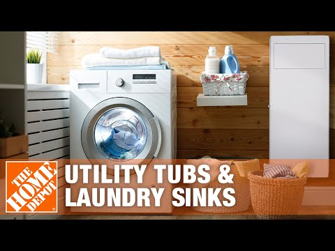 Utility Tubs & Laundry Sinks
