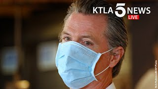 Coronavirus: California sees 19% increase in ICU hospitalizations over last 14 days, Newsom says|KTLA 5