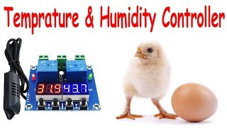 XH-M452 Temperature And Humidity Controller Module Review In Urdu/Hindi