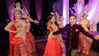 Indian Wedding Reception Entrance Dance (London Thumakda)