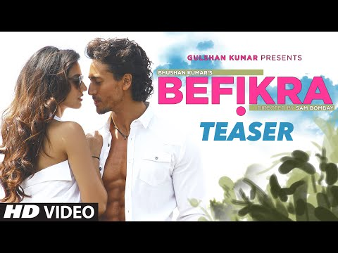 BEFIKRA Song Teaser    Tiger Shroff, Disha Patani, Meet Bros   T-Series