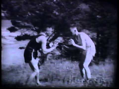 Old Finnish self-defence education film