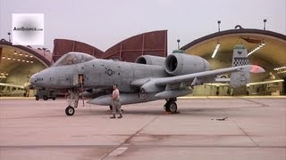 Four A-10 Warthogs' Last Launchs Before Retirement - Osan Air Base, Korea