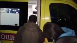 """Ночью спасатели эвакуировали 50 жителей дома с """"черными лицами"""""""