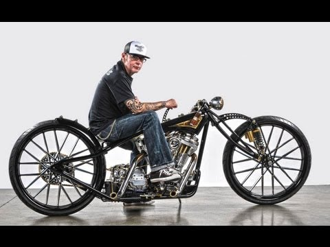 Chop Deluxe, Australian Custom Harley  Builder, Interview   (motorcycle video)