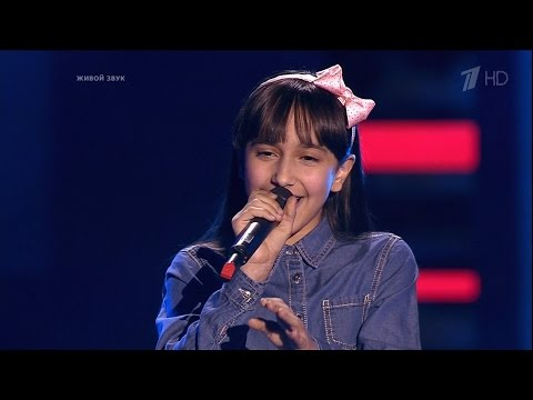 The Voice Kids RU 2016 Ivena — «Who's Lovin' You» Blind Auditions   Голос Дети 3. Ивена Работова. СП