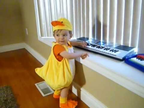 how to make a chicken costume for baby
